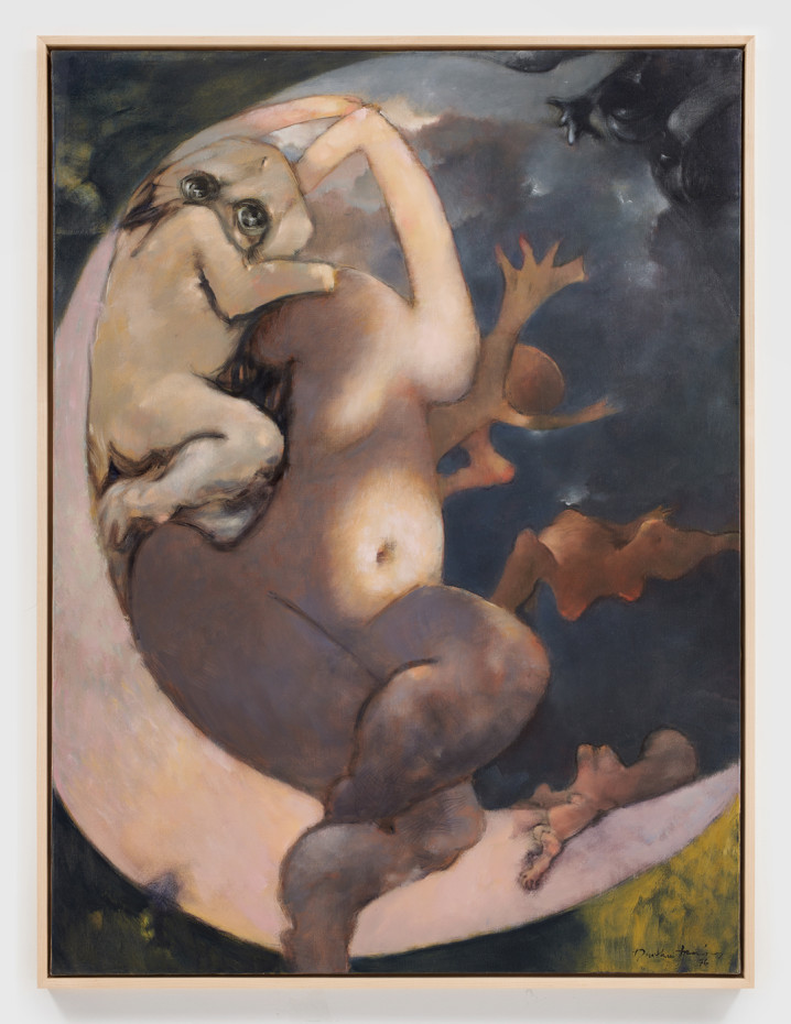 Dorothea Tanning  Murmurs, 1976  Oil on canvas  130 x 97 cm 51 1/8 x 38 1/4 in