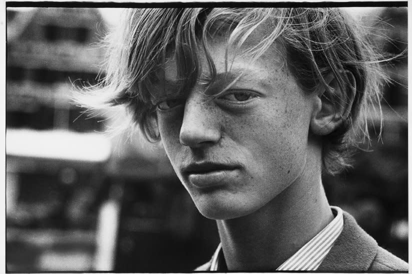 Ed van der Elsken, Portrait of a young boy, Amsterdam, 1962