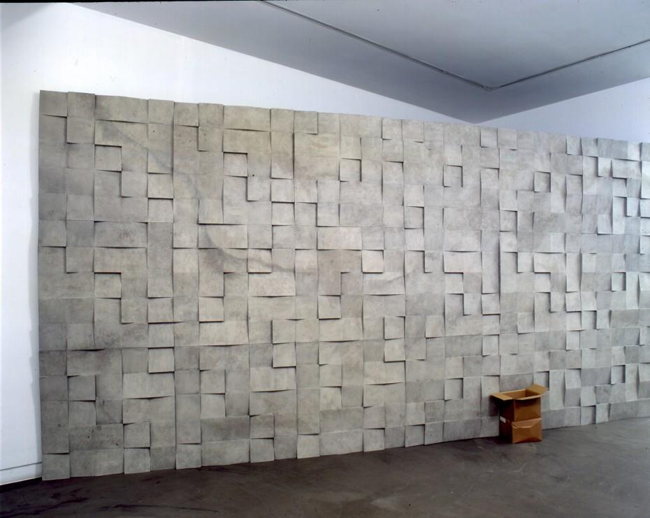 Ryan Gander A slowing of the spectator's eye, 2005 fibreglass wall 3 x 6 m (wall) (AG.RG.06.3211)