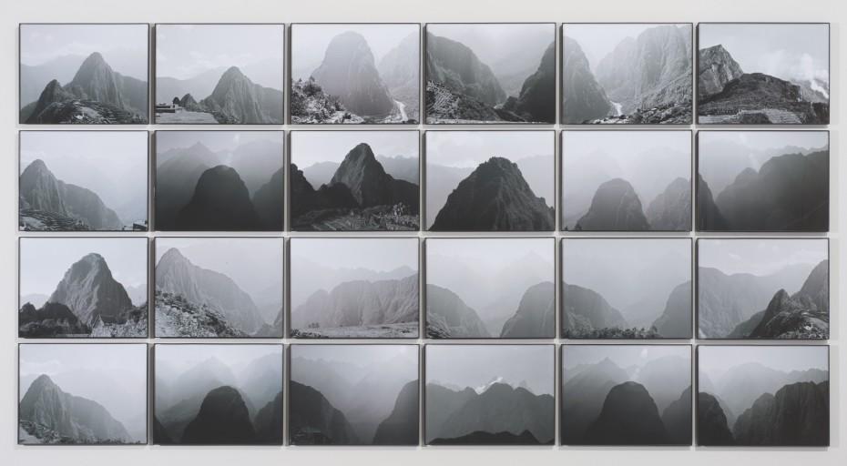 <div class=&#34;title&#34;><em>Sacred Solstice Alignment</em>, 1981</div><div class=&#34;signed_and_dated&#34;>Printed in 2014</div><div class=&#34;medium&#34;>Archival inkjet prints of black and white analog photographs</div><div class=&#34;dimensions&#34;>92.1 x 177.2 cm, 36 1/4 x 69 3/4 ins</div><div class=&#34;dimensions&#34;>&#169; Michelle Stuart</div>