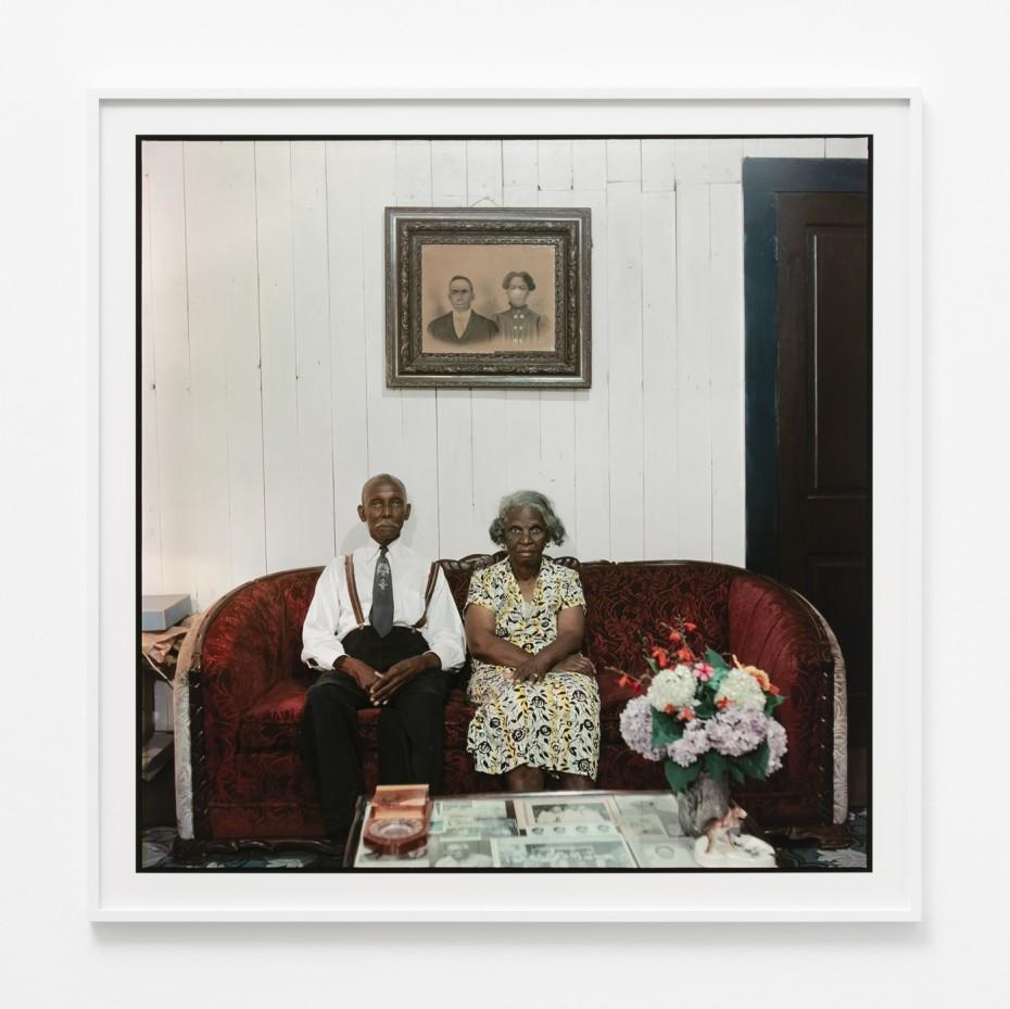 Gordon Parks, 'Mr. and Mrs. Albert Thornton, Mobile, Alabama', 1956 © The Gordon Parks Foundation