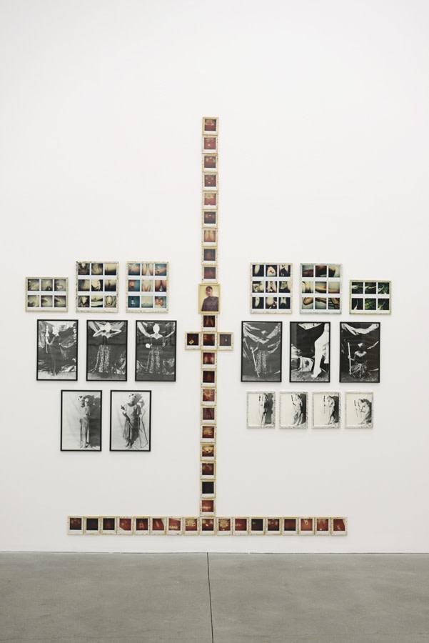 Birgit Jürgenssen, 10 Days - 100 Photos, 1980-81 Lifetime photographs and polaroids, framed by the artist. © Estate Birgit Jürgenssen