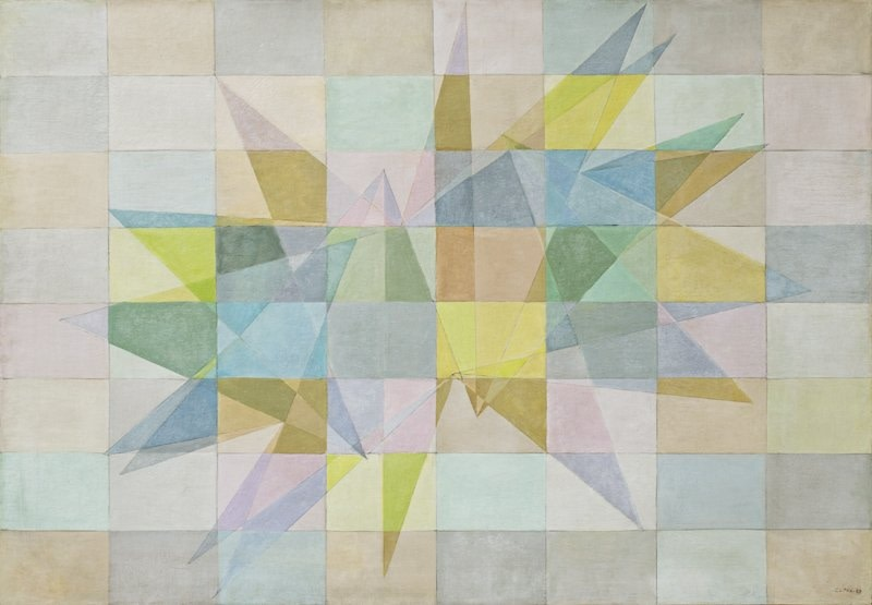Lygia Clark Composição (Composition), 1953. Courtesy Alison Jacques Gallery, London.
