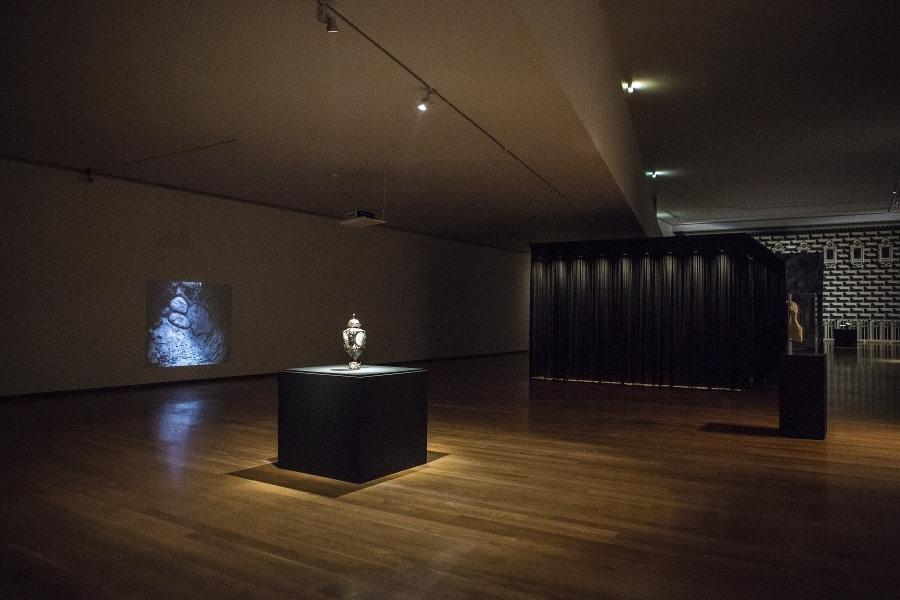 Installation view: 'Transantiquity', Galeria Municipal do Porto, Portugal, 2018.