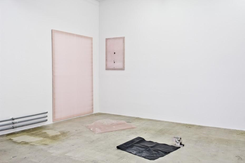 Ian Kiaer, Endless house project: Ulchiro endnote/ pink, 2008 © Ian Kiaer