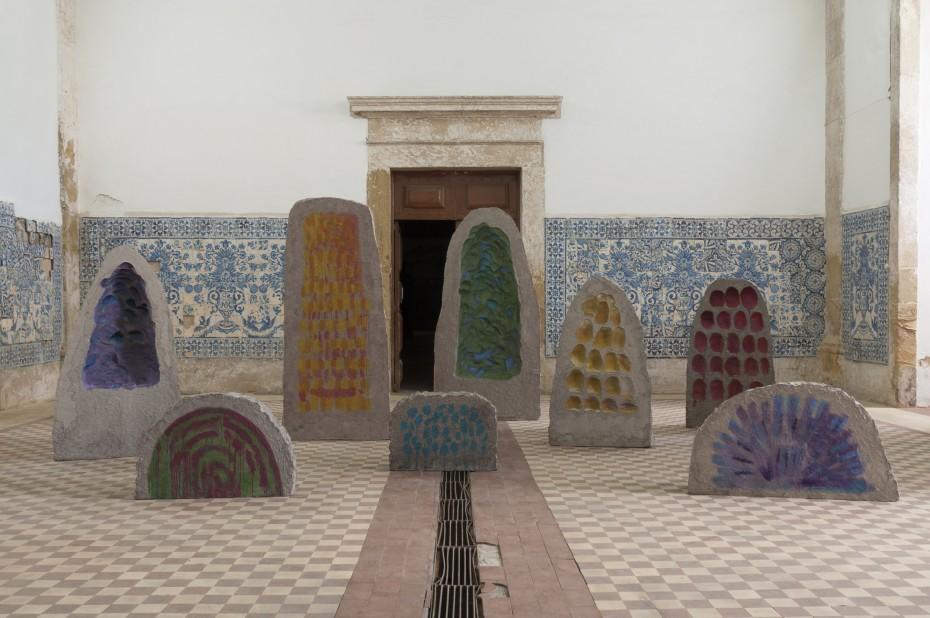 Erika Verzutti, Mineral, 2019 in 'Anozero'19 – Coimbra Biennial Of Contemporary Art', Portugal, 2019 © Erika Verzutti