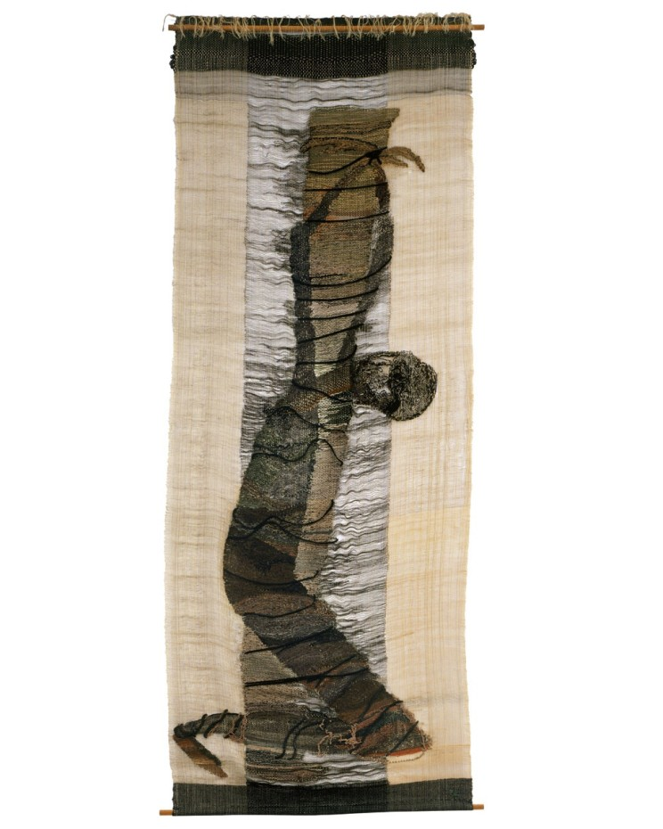 Lenore Tawney, Bound Man, 1957. Collection of Museum of Arts & Design, New York. © Lenore G. Tawney Foundation⁣⁣⁣