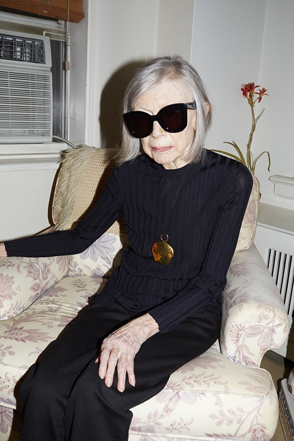 Juergen Teller, 'Joan Didion', Céline Campaign Spring Summer 2015, New York 2014. © Juergen Teller, All rights Reserved