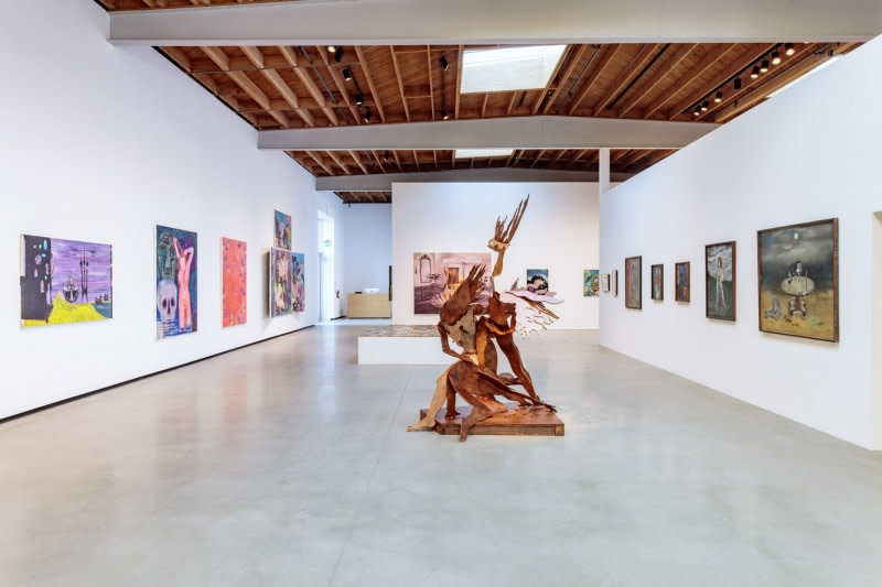 Installation view: 'All of Them Witches', Deitch Projects, L.A. Photo: Joshua White.