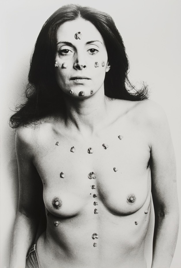 Hannah Wilke S.O.S Starification Object Series, 1974. © Marsie, Emanuelle, Damon and Andrew Scharlatt, Hannah Wilke Collection & Archive, Los Angeles. Licensed by VAGA at Artist's Rights Society (ARS), New York, DACs, London