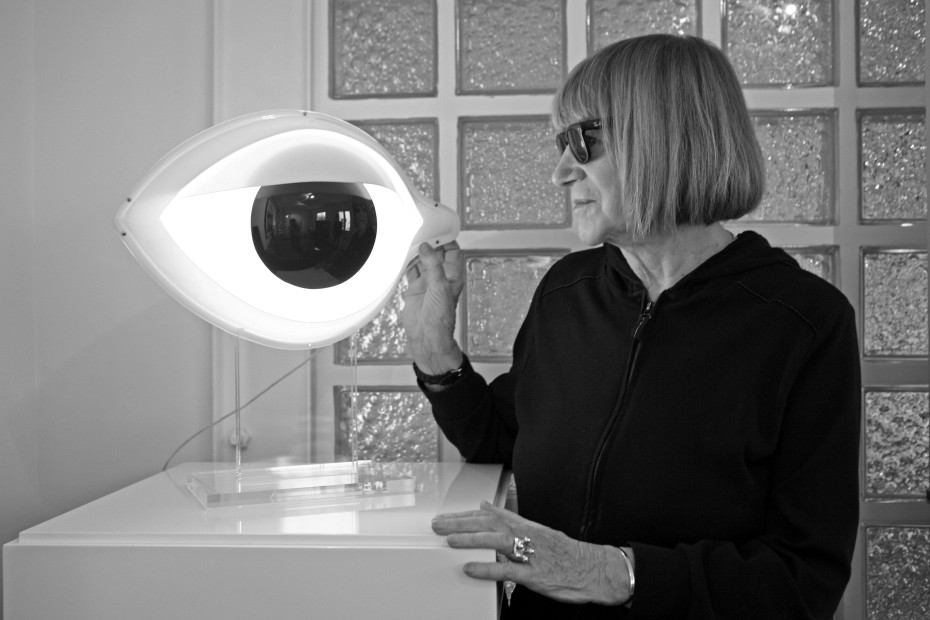 Nicola L. with Eye Table Lamp, 2008. © Nicola L. Collection and Archive