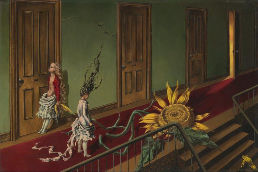 Dorothea Tanning, Eine Kleine Nachtmusik 1943. © ADAGP, Paris and DACS, London