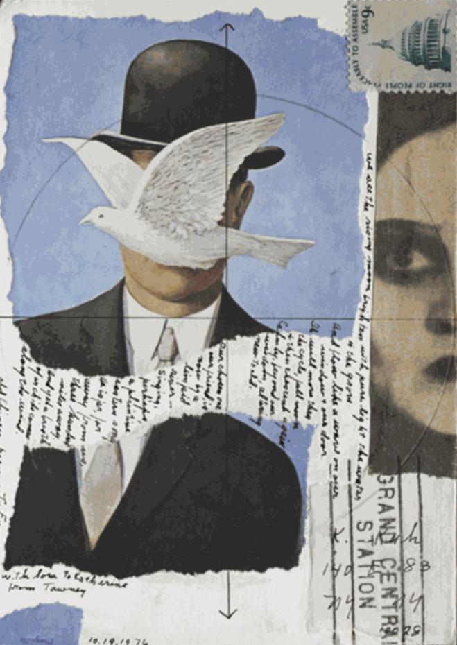 Lenore Tawney, Magritte, 1976. The Cleveland Museum of Art, Gift of Katharine Kuh. © Lenore G. Tawney Foundation