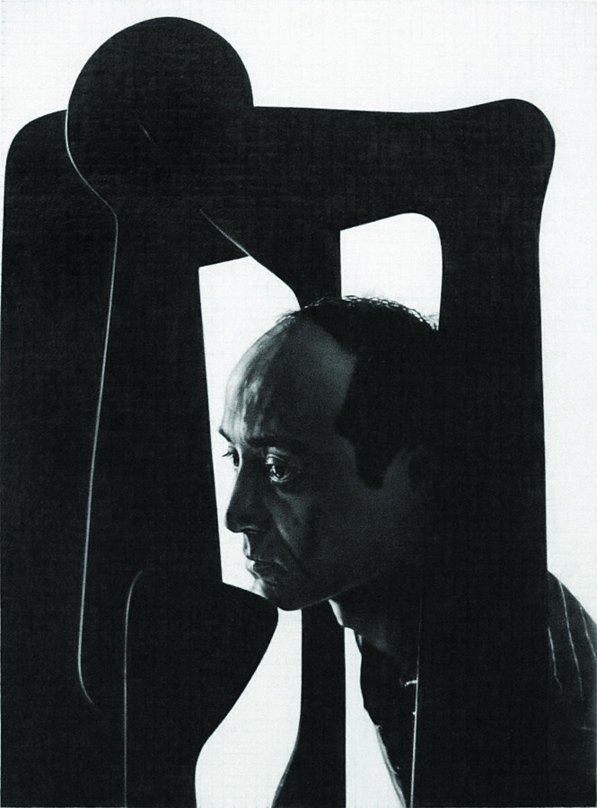Dan Fischer, 'Isamu Noguchi', 2012, graphite on paper, 52.1 x 41.9 cm (20 1/2 x 16 1/2 in). Courtesy: the artist, Derek Eller Gallery, New York, and Alison Jacques Gallery, London © Dan Fischer⁠