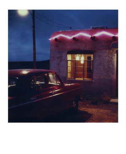 Santa Fe, New Mexico, 1985 Polaroid camera SX-70 Inkjet-print fine-art on cardboard 32,7 x 39,8 cm 1/5 + 2 AP