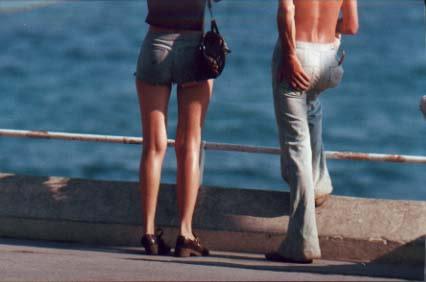 Ed van der Elsken, Marseille, 1975.