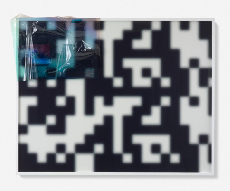 B&W #02, 2014  lightjet print, UV solvent print  110.0 x 139.0 x 4.5 cm 43 1/4 x 54 11/16 x 1 3/4 in.