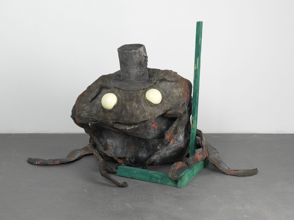 The Beetle, 2002  papier mache, cardboard, acrylic paint, cloth, latex, plastic, polystyrene  93.0 x 132.0 x 90.0 cm 36 5/8 x 52 x 35 3/8 in.