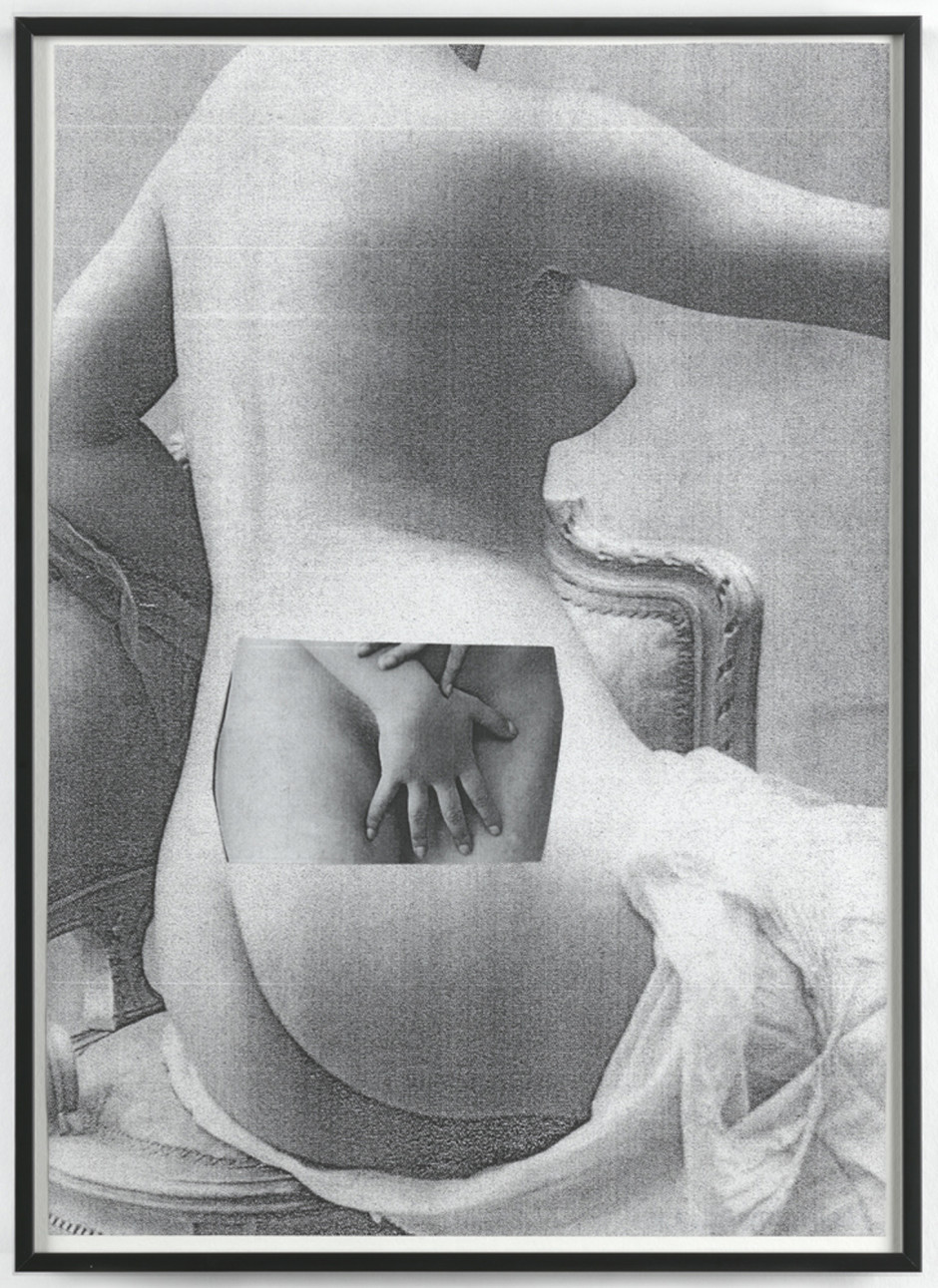 Sexy Collages, 2015  signed on verso  collaged photocopies  32.2 x 23.5 x 2.5 cm 12 5/8 x 9 1/4 x 0 15/16 in.