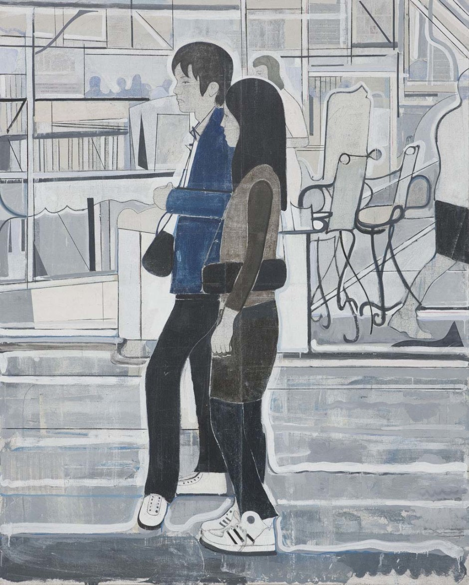 Untitled (couple facing left), 2008