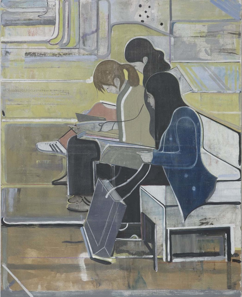 Untitled (three women reading), 2008