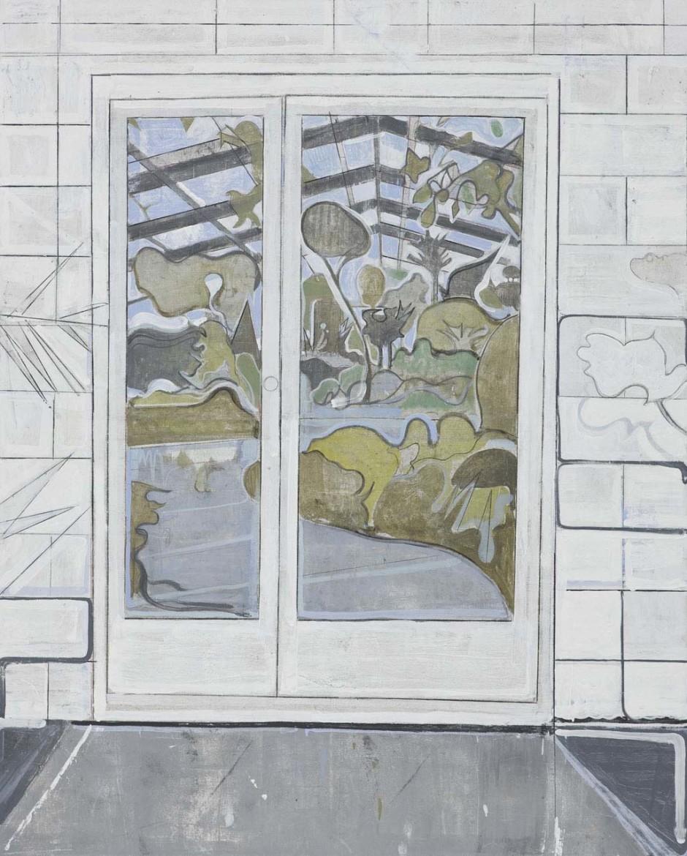 Untitled (entrance to botanical garden), 2008