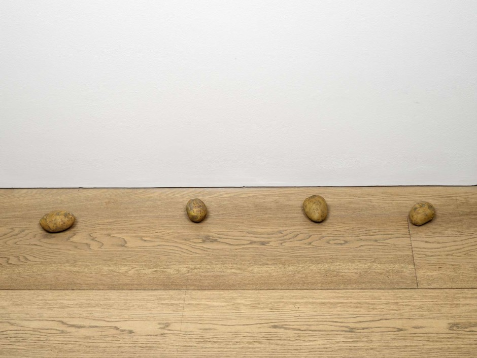 still.life. (four potatoes in a line), 2009