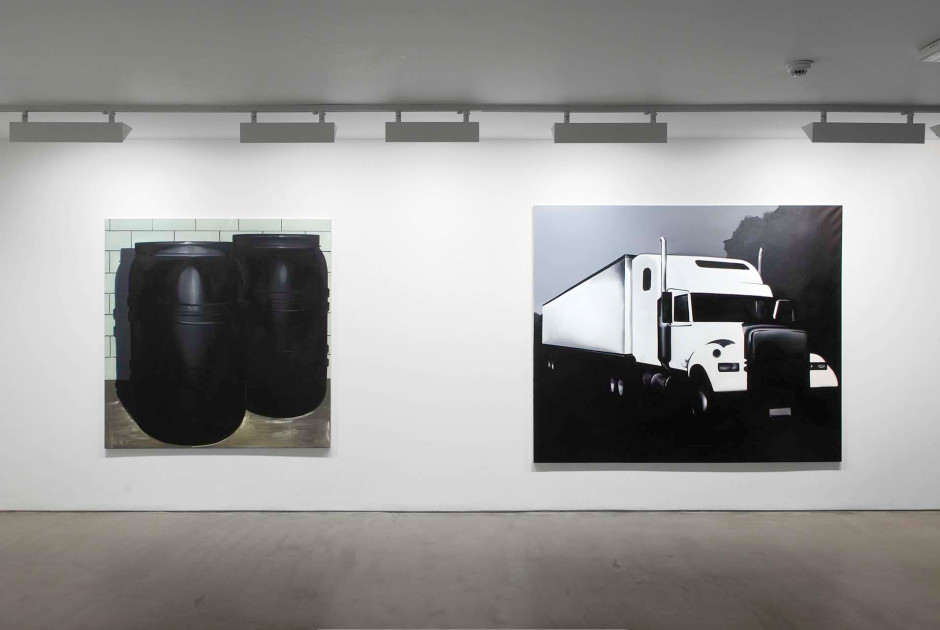 installation view, 2009