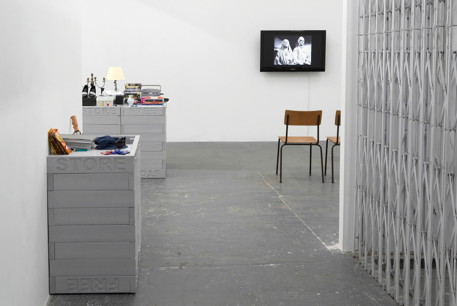 Installation view, 2009