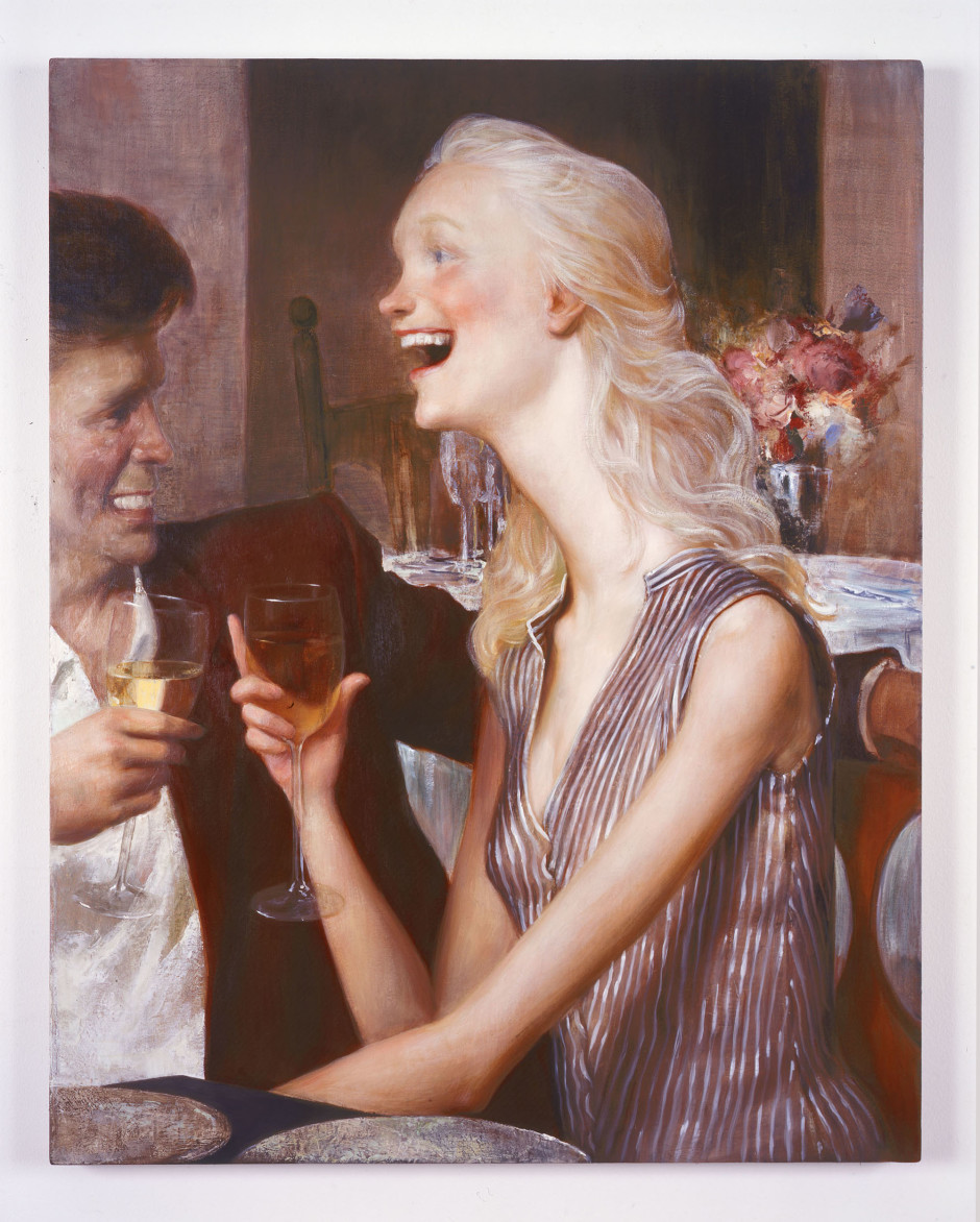 Park City Grill, 2000  oil on canvas  96.52 x 76.2 cm 38 x 30 in.