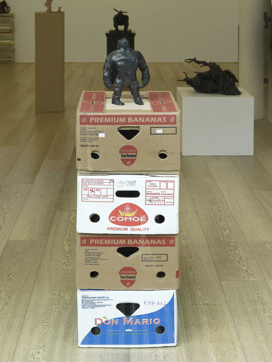 A Couple of Differences between Thinking and Feeling (Ape Looking Towards Heaven), 2002