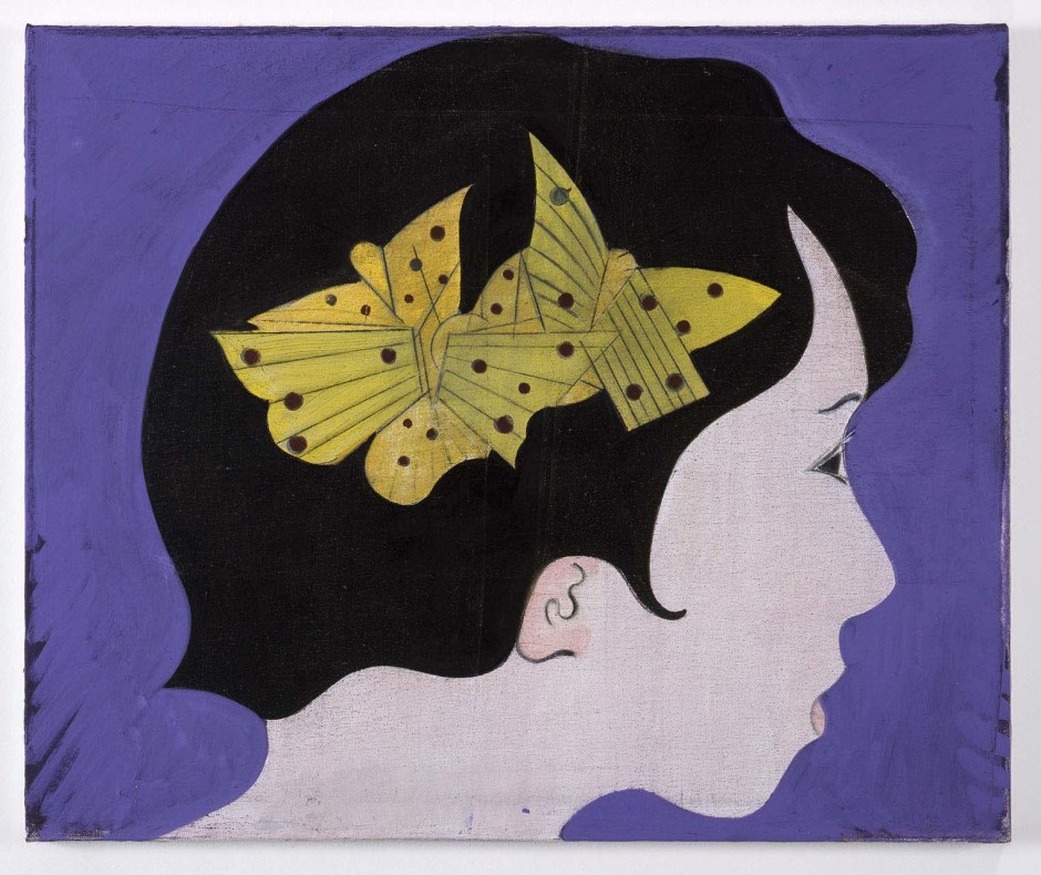 Girl with Butterflies in Hair, 2010