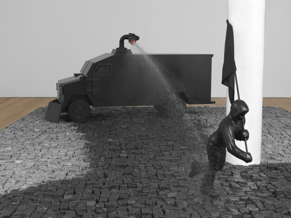 Proposal for Public Fountain (detail), 2013