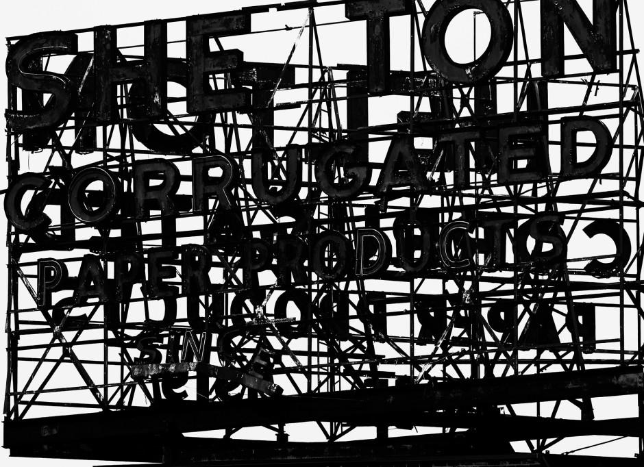 Image Enjambment, 2013  Epson print  135.0 x 185.0 x 5.6 cm 53 1/8 x 72 13/16 x 2 3/16 in.