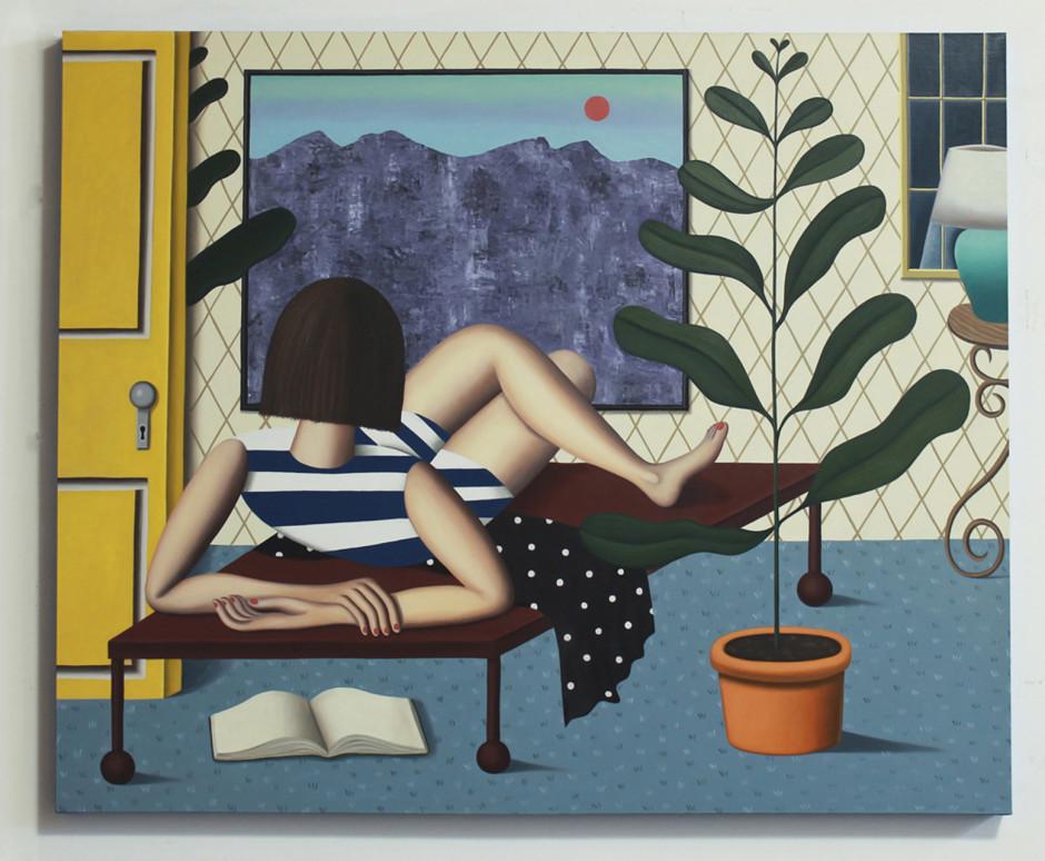 Jonathan Gardner, Interior Landscape, 2015