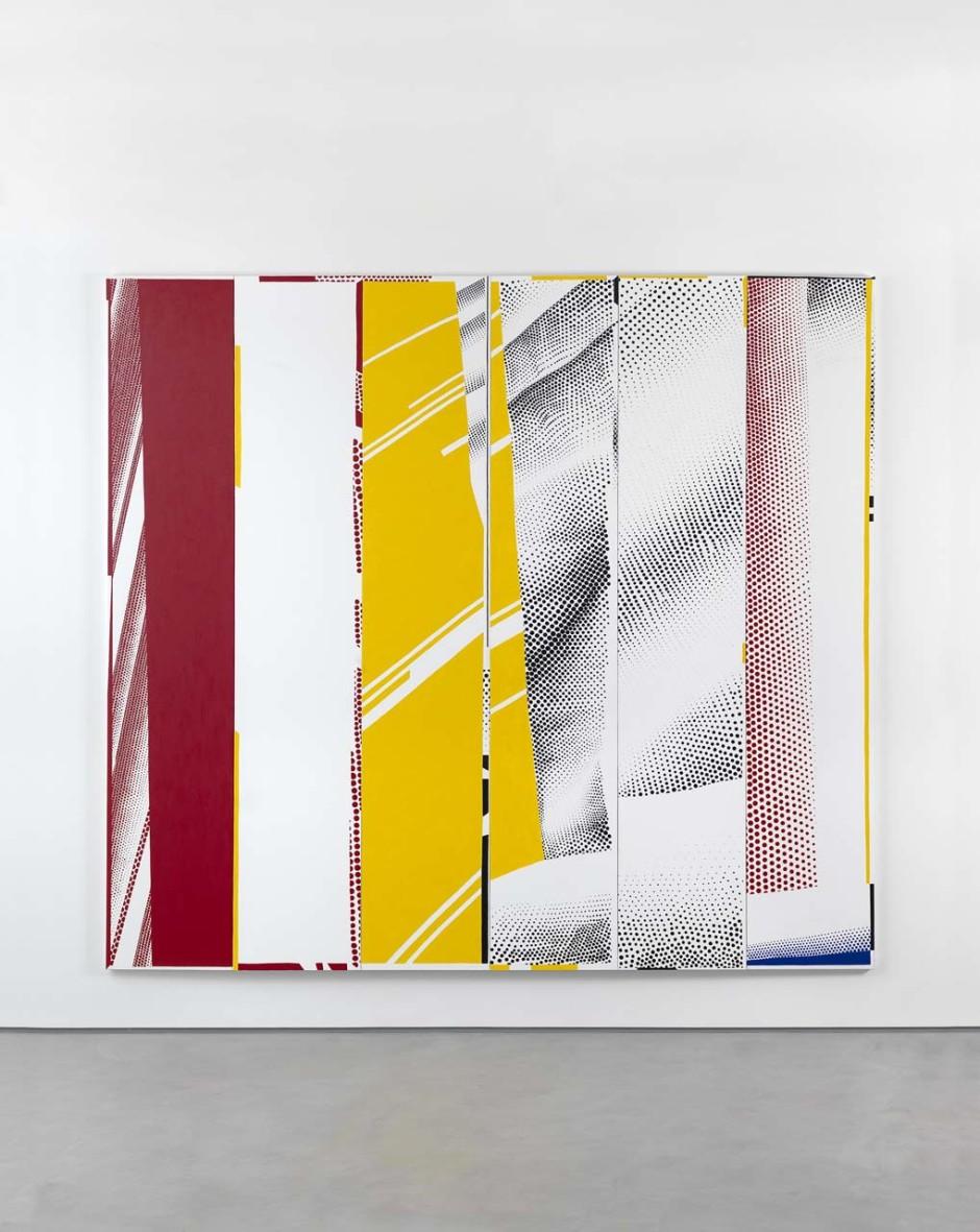 "Group Self-portrait in ""Mirror #3 (Six Panels)"" (Li Huan, Jacob, Ian, Cathleen, Dom, Karin), 2015"