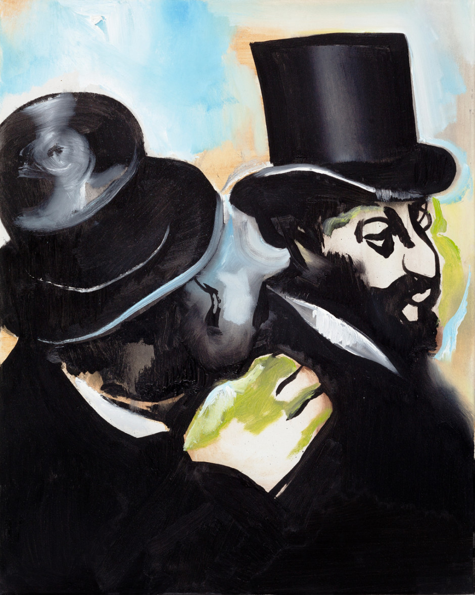 Jews (after Degas), 2014
