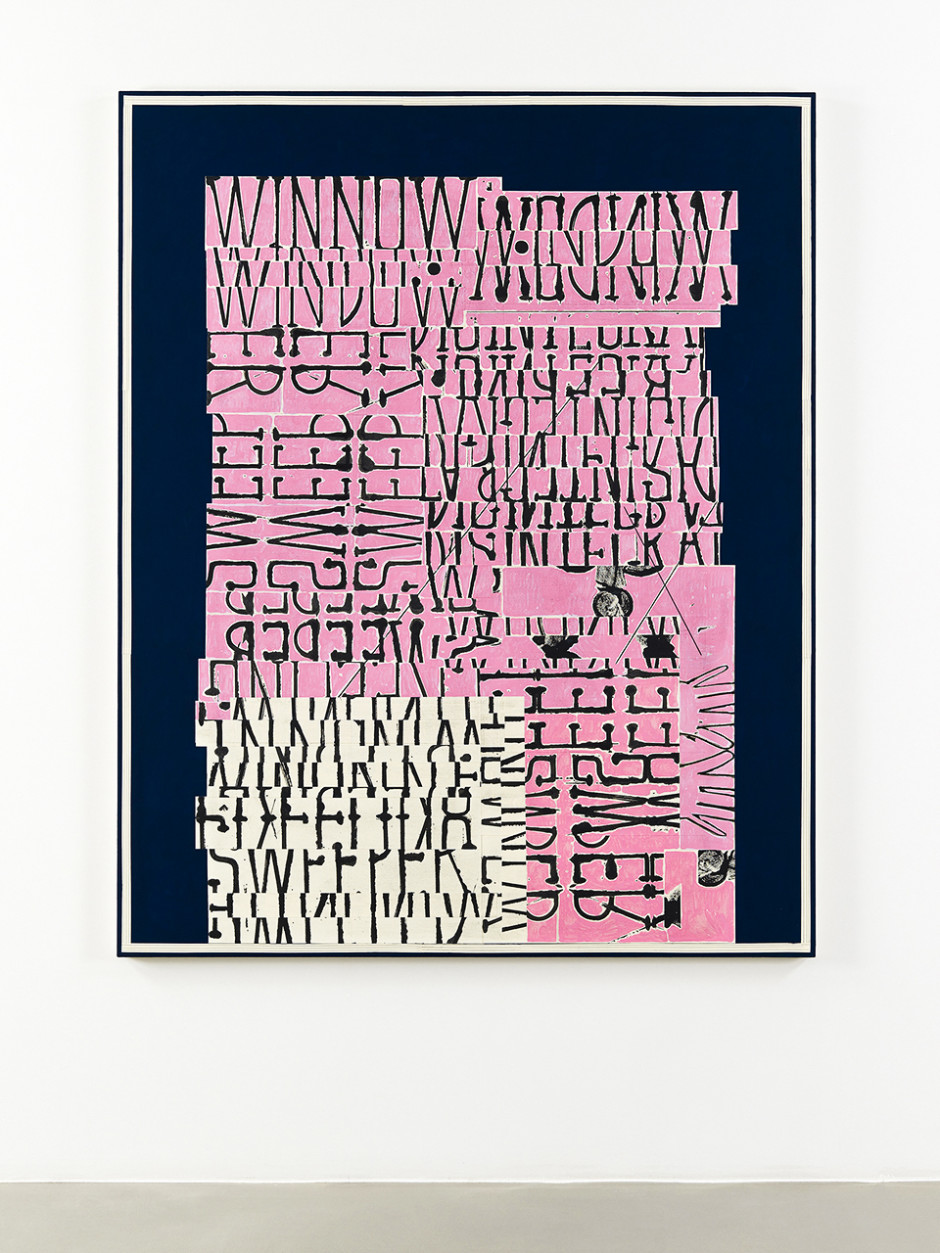 Word Painting (Sweeper), 2016