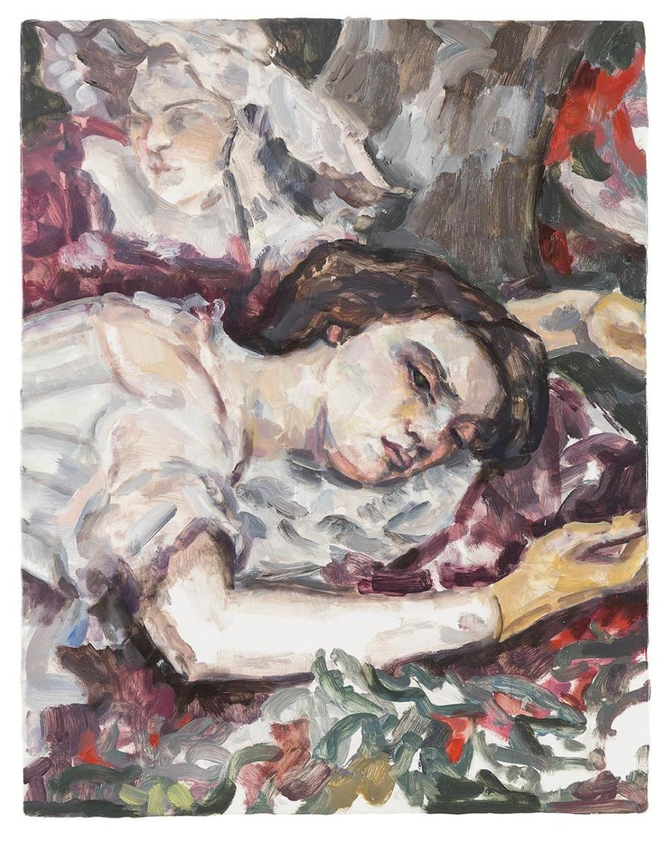 Two women (after Courbet), 2015