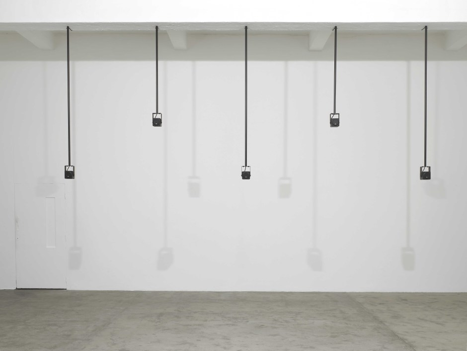 Installation view, Florian Hecker, Chisenhale Gallery, London, 12 February – 28 March 2010