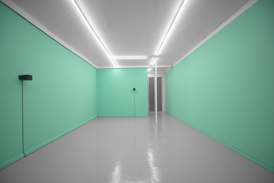 Installation view, Florian Hecker, Synthetic Statistics, Porta33, Funchal, 25 May - 10 August 2019  Photography: Magda Pereira