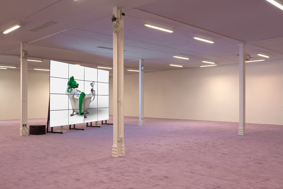 Installation view, Kingly Street, 2017