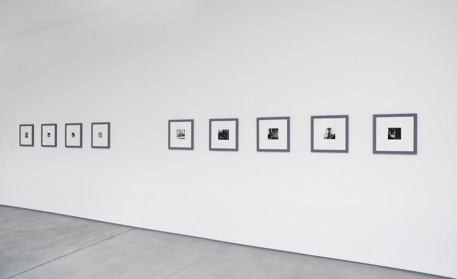 Francesca Woodman, installation view, 2017