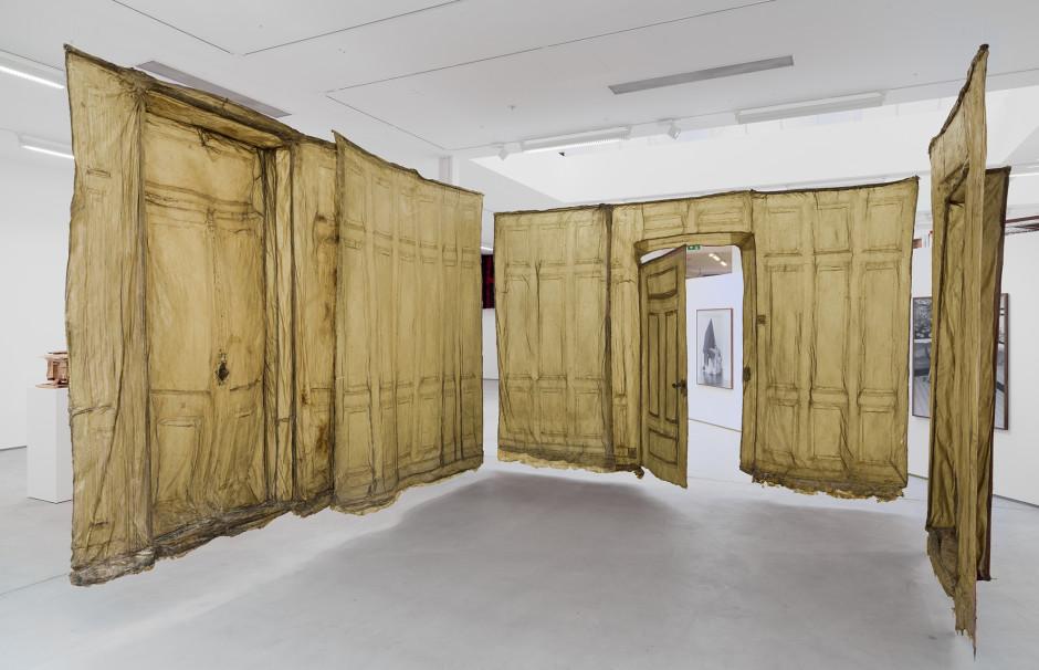Heidi Bucher, Untitled (Herrenzimmer), 1977-78