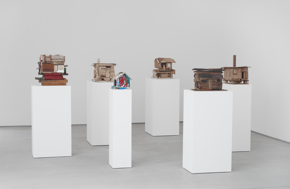 Beverly Buchanan, installation view, 2017