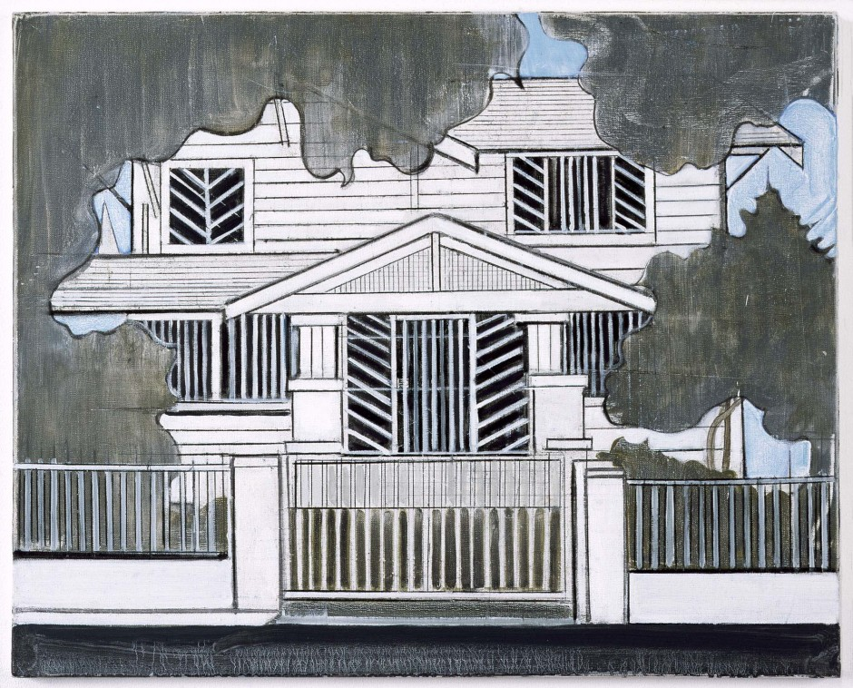 House No 1, 2010  oil on canvas  61.0 x 76.2 x 2.3 cm 24 x 30 x 0 7/8 in.