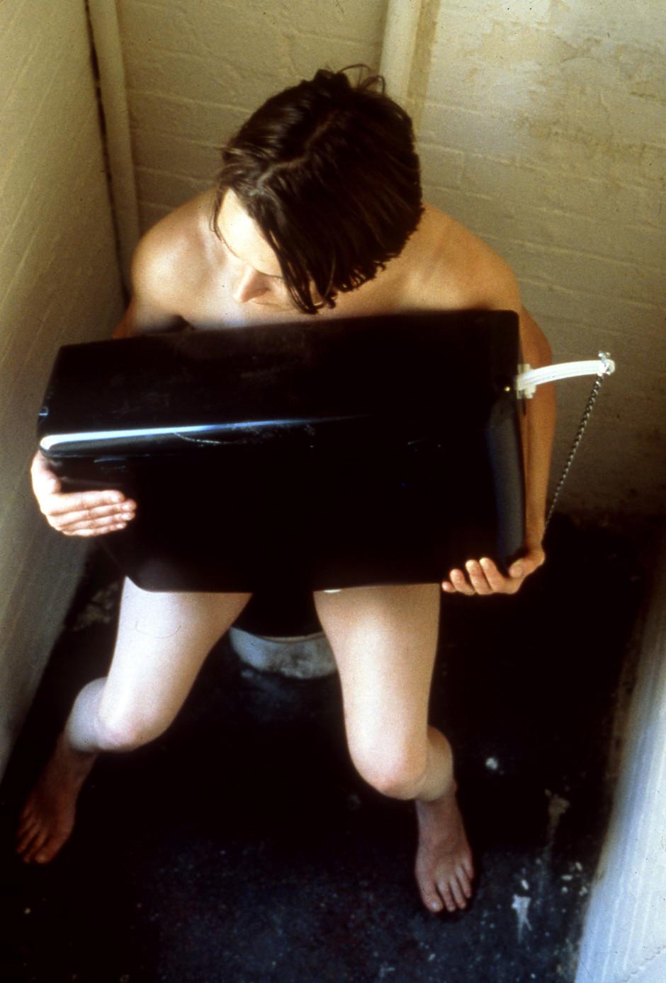 The Human Toilet, 1997  c - type print  243.84 x 188.6 cm 96 x 74 1/4 in.