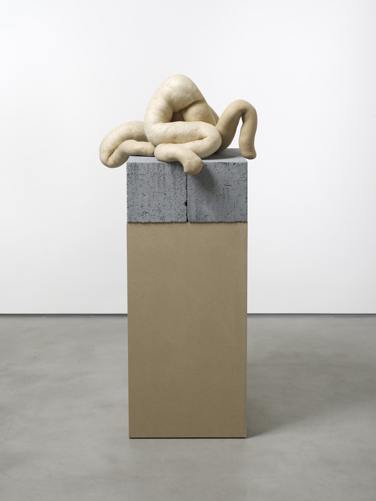 NUD CYCLADIC 9, 2010  tights, fluff, wire  42.0 x 50.0 x 61.0 cm 16 1/2 x 19 5/8 x 24 in.