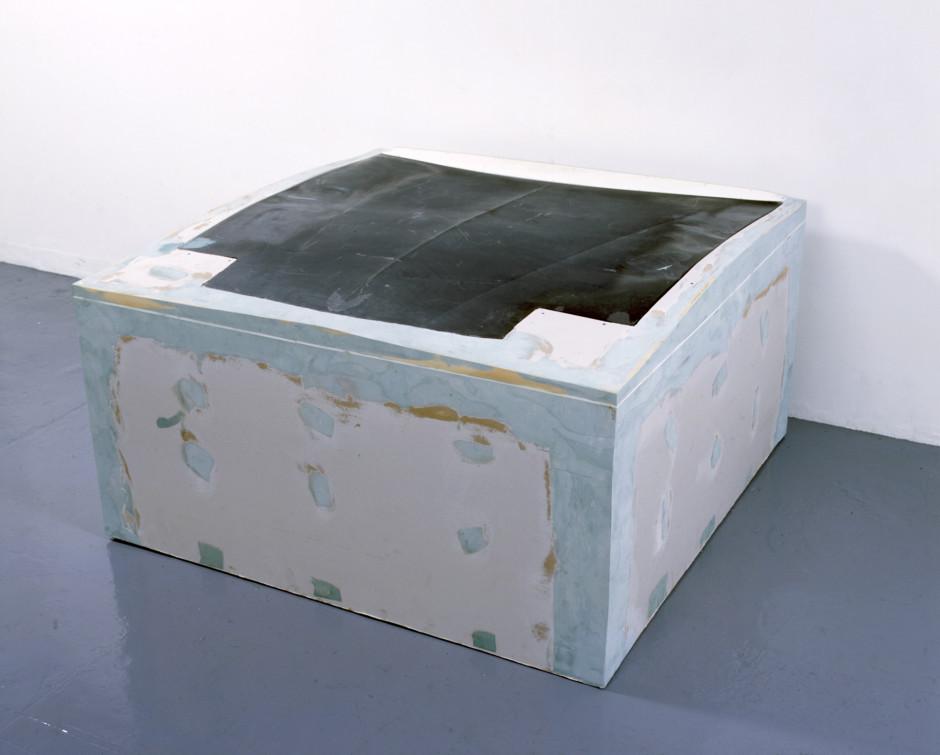 Untitled (hood), 2007  wood, acrylic, auto-body compound, fibreglass  89.0 x 179.0 x 176.0 cm 35 x 70 1/2 x 69 1/4 in.