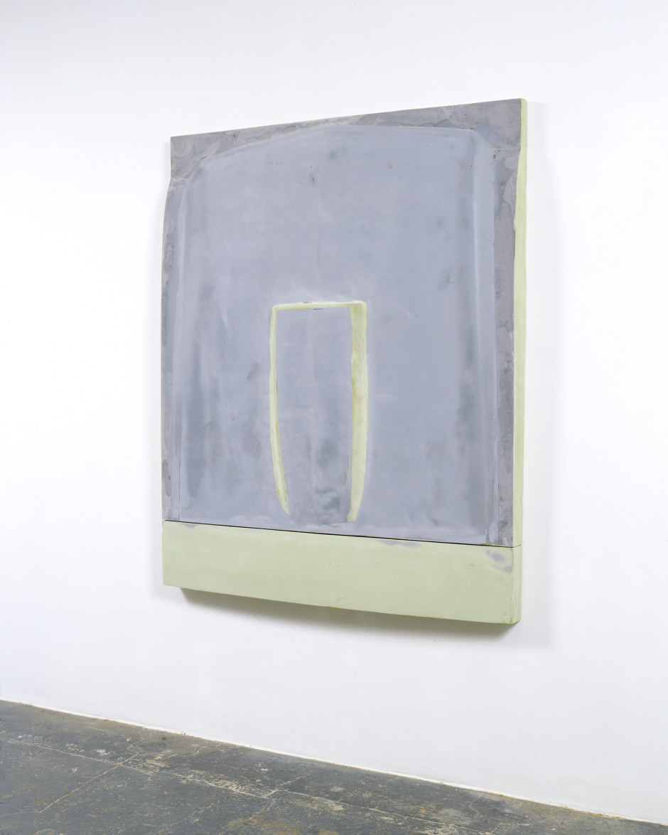 Untitled, 2008  fiberglass, wood, acrylic and bondo  158.1 x 128.9 x 15.2 cm 62 1/4 x 50 3/4 x 6 in.